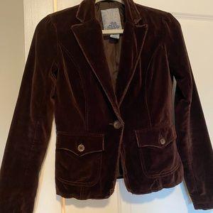 BB Dakota vintage velvet blazer